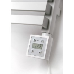 Designer Thermostatic Element Built in 24 Hour Timer In Chrome
