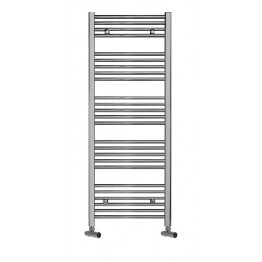 750mm / 1300mm High Towel Radiator Chrome Straight