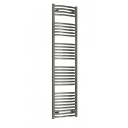 700mm Wide / 1700mm High Tall Towel Radiator Chrome Straight
