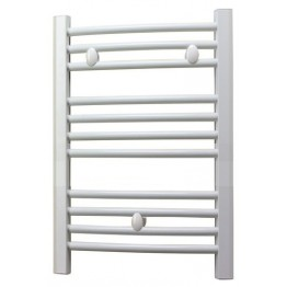200mm Wide Small Narrow Towel Radiator White Flat